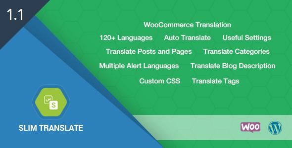 CodeCanyon Slim Translate Wordpress Translation Tool 18040511