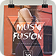 Music Fusion Party Flyer