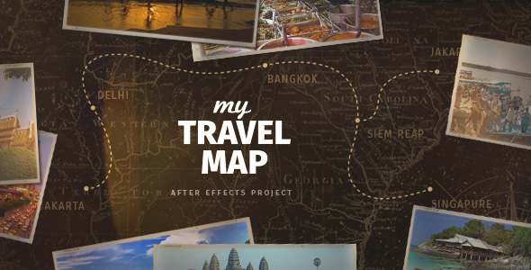 My Travel Map by elmake – Map My Travels