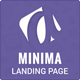 Minima Simple App Showcase Landing Page