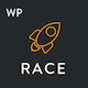 Race - Creative One Page WordPress Theme