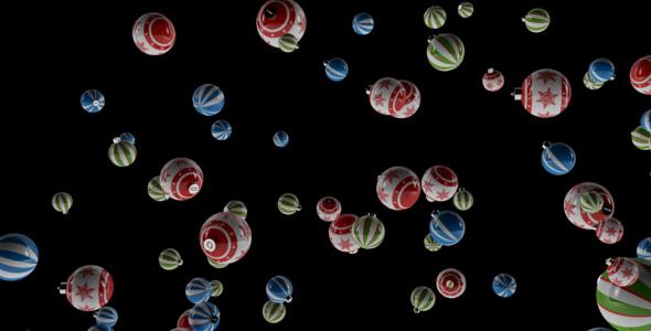 VideoHive Merry Christmas Balls 18264753