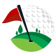 Golf Field Logo