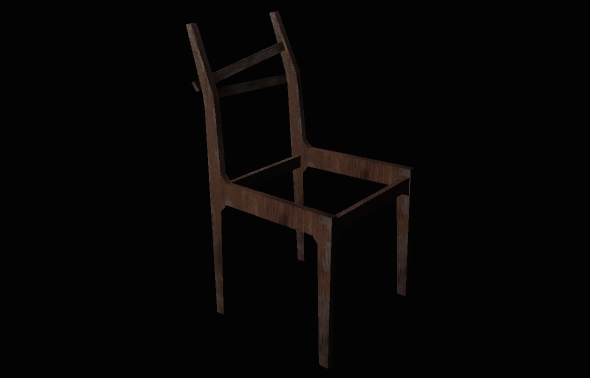 Chair 1 - 3DOcean Item for Sale