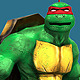Teenage Ninja Mutant Turtle Raphael