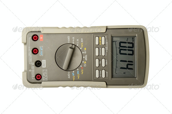 Multimeter - Stock Photo - Images