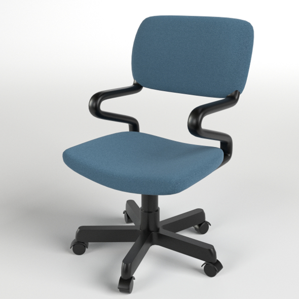 Office Chair 1 - 3DOcean Item for Sale