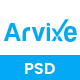 Arvixe - One Page Corporate PSD Template