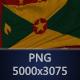Background Flag of Grenada
