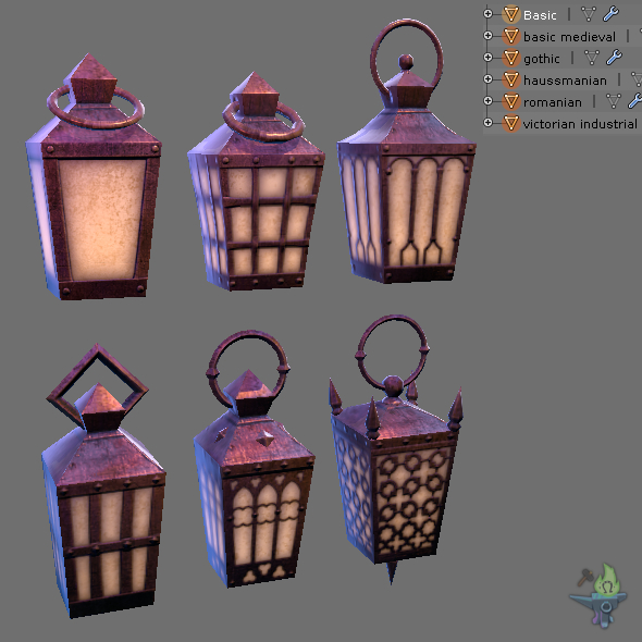 3DOcean Game ready Hand Lantern 18272640