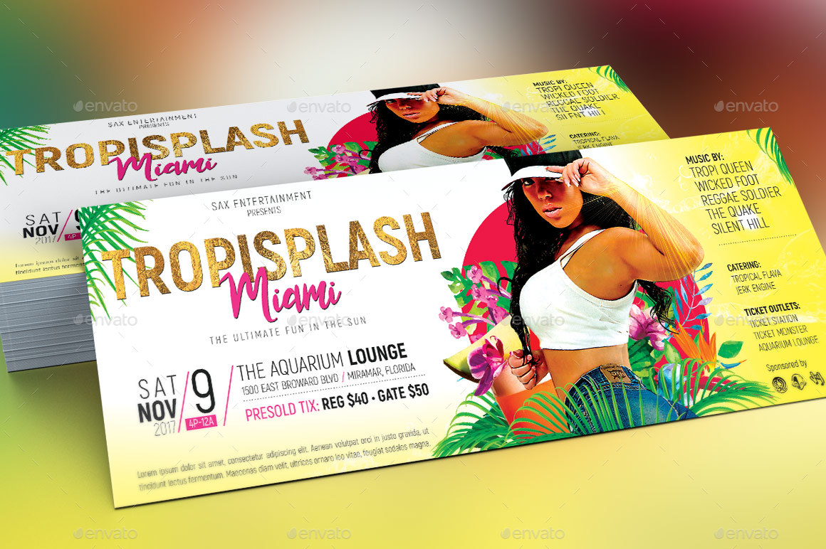 tropical party flyer template by godserv2 graphicriver preview image set tropical party flyer template preview 1 jpg preview image set tropical party flyer template preview 2 jpg preview image