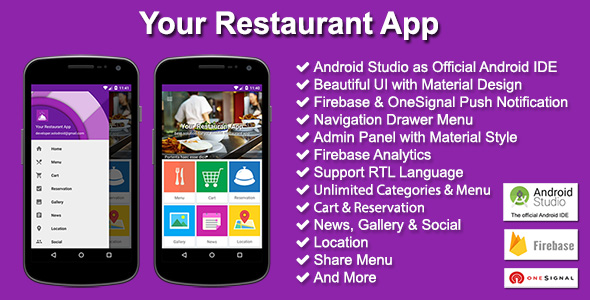 Your Restaurant App nulled download