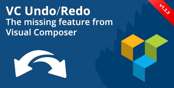 Visual Composer Undo/Redo Buttons