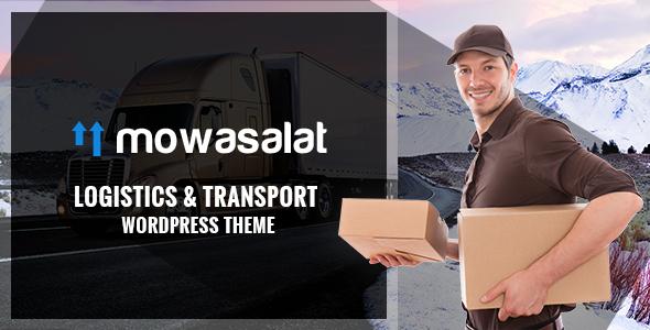 Mowasalat - Logistic and Transports WP Theme