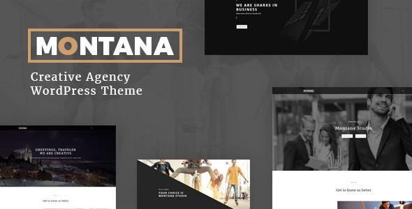 Download Montana - Creative OnePage  Portfolio, Agency, ShowCase  WordPress Theme nulled download