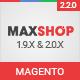 Maxshop - Premium Magento 2 & 1.9 Store Theme