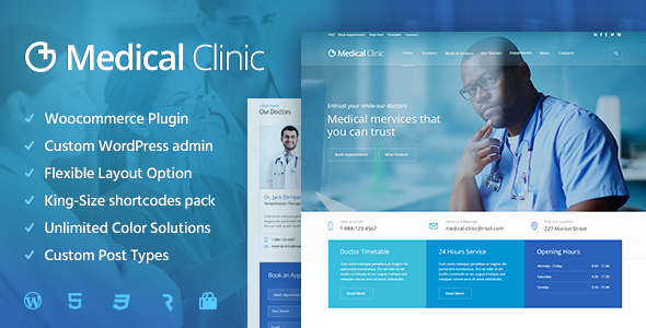 Download Medical Clinic - Health & Doctor Medical WordPress Theme nulled download