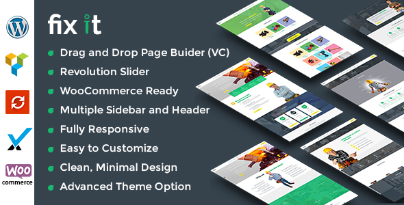 Fixit Construction - Construction WordPress Theme