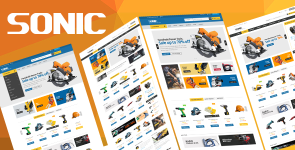 Download Sonic - Responsive Opencart Theme nulled download
