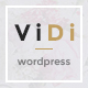 ViDi - 3 in 1 Creative Portfolio WordPress Theme