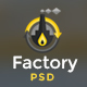 Factory Industrial - Engineering & Industrial PSD Template