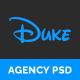 Duke - Agency PSD Template