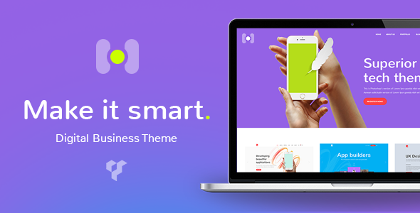 Download Hotspot - A Modern & Smart Theme for Digital Business nulled download
