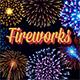 Vector Fireworks Illustrations