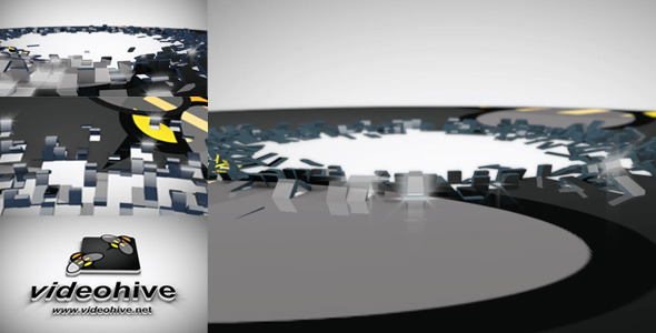 VideoHive 3D Unfold Logo Reveal 1801539