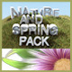 Nature and Spring Pack - GraphicRiver Item for Sale