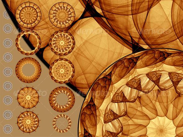 GraphicRiver Mandalas 70337