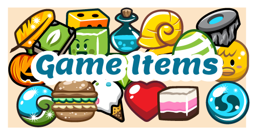 Game Items Collection