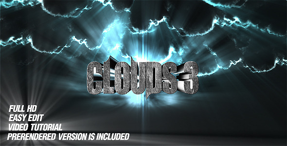 After Effects Project - VideoHive Clouds 3 1742549