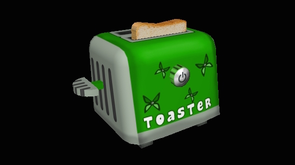 Toaster - 3DOcean Item for Sale