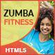 GWD | Zumba Class Fitness HTML Banners - 07 Sizes
