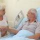 Old Couple Talks at the Hospital