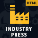Industrypress - Factory & Industrial Business Template