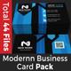 Modernn Business Card Pack 1st Edition
