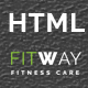 Fitway | Responsive One Page HTML Template