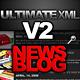ULTIMATE XML V2 NEWS / BLOG - ActiveDen Item for Sale
