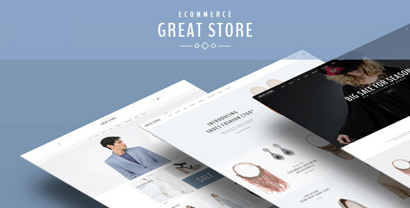 GREAT STORE - eCommerce Prestashop Theme