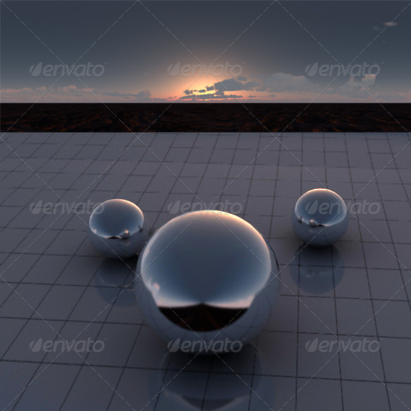 3DOcean Sunset2 213034