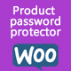Product password protector (woocommerce)
