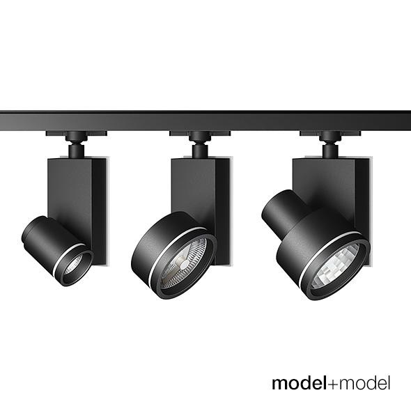 Artemide Architectural Picto track spotlights - 3DOcean Item for Sale