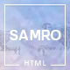 Samro - Responsive One Page HTML Template