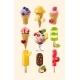 Set of Ice Cream Icons