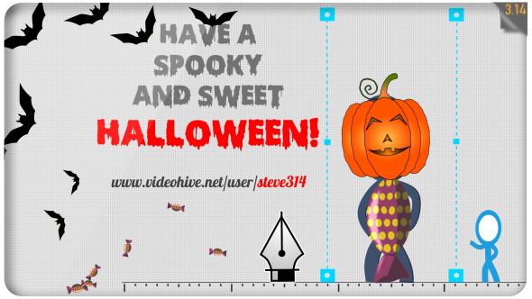 VideoHive Happy Halloween Greetings 18308008