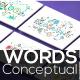 20 Thin Line Conceptual Words Part 2