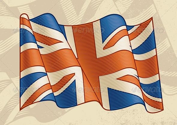 Vintage British Flag