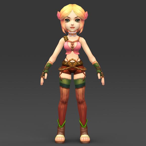 Cartoon Character Kubdi - 3DOcean Item for Sale